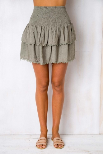 Crossroads Skirt - Khaki