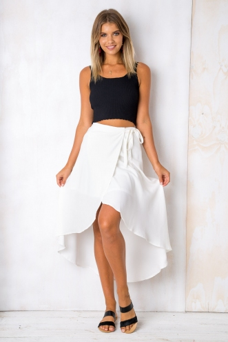 Perfect day skirt - White