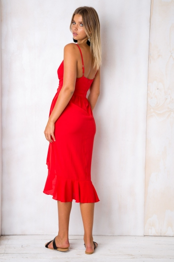 Belle of the ball dress - Red