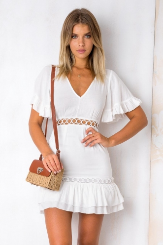 What We Want Dress - White