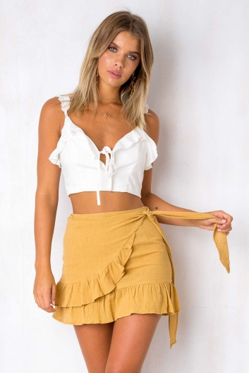 Happy Hour Top - White