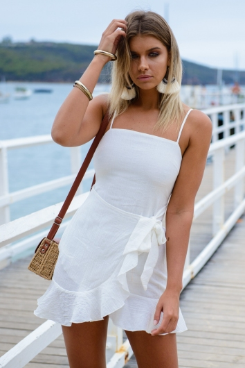 Applebloom Dress - White