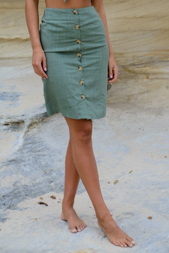 Sugar and Spice Skirt - Khaki
