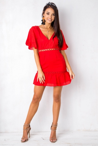What We Want Dress - Red