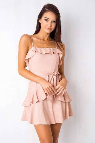 By The River Dress - Pink