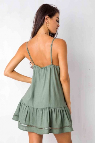 Bobbi Dress - Khaki