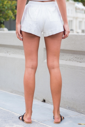 Sun Kissed Shorts - White