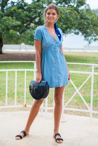 Light Loving Dress -Blue