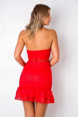 Heavenly Dress - Red