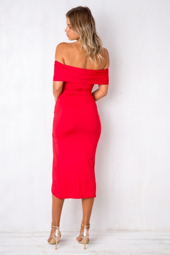 Mamma Mia Dress - Red