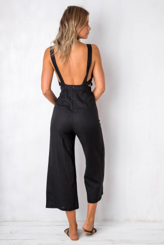 Ever After Jumpsuit - Black