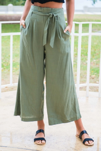 Bend The Trend Pants - Khaki