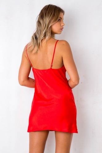Tune It Up Dress - Red