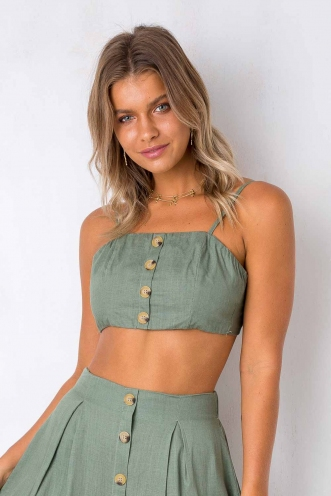 Market Day Top - Khaki