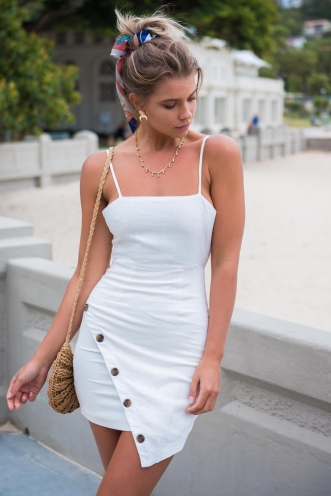 Sweet Threads Dress - White