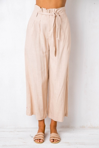 Bend The Trend Pants - Beige