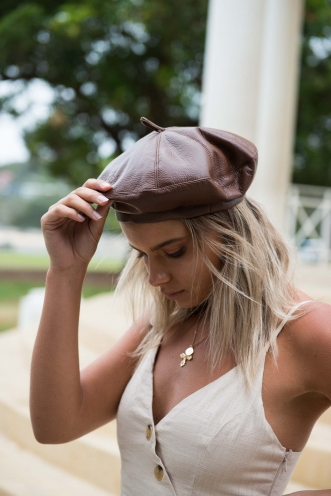 Feelin' French Beret - Brown