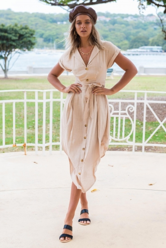 All I Ever Wanted Dress - Beige