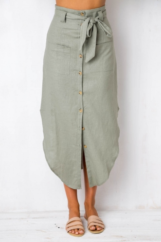 Sway with me skirt - Khaki