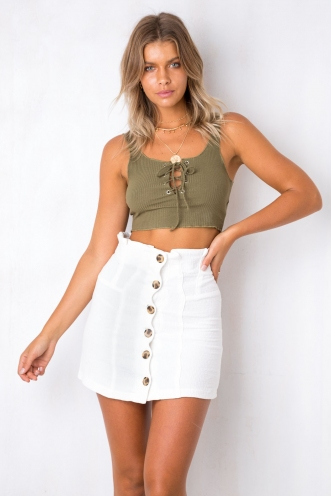 Dreams Come True Top - Khaki