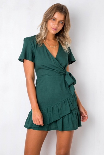 Had It All Dress - Green