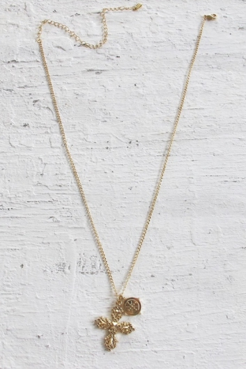 Minc Collections - Trinket Charm Necklace - Gold