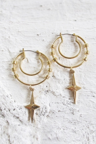 Minc Collections - Summer Hoops - Gold
