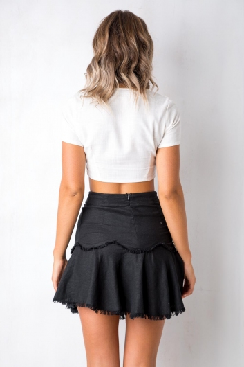 Love Ridden Top - White