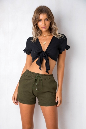 Crossroads Top - Black