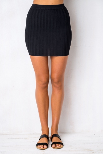 Gotcha Skirt - Black