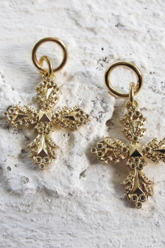 Minc Collections - Charmed Earrings - Gold