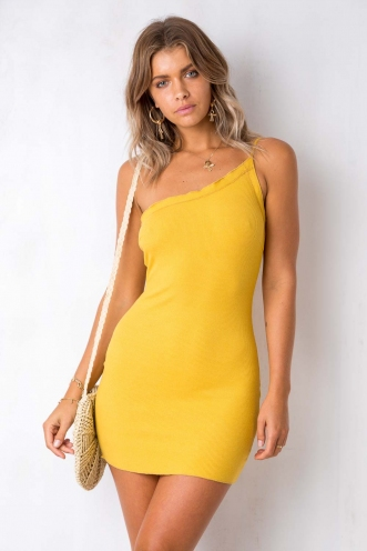 Twentyone Dress - Mustard