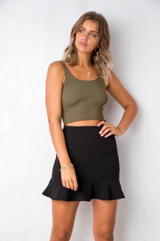 Pop It Top - Khaki