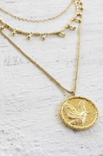 Minc Collections - Harper Necklace - Gold