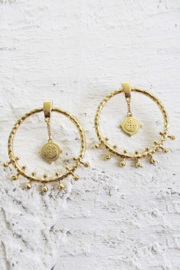 Minc Collections - Droplet Earrings - Gold