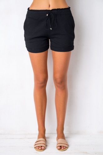 Feeling New Shorts - Black