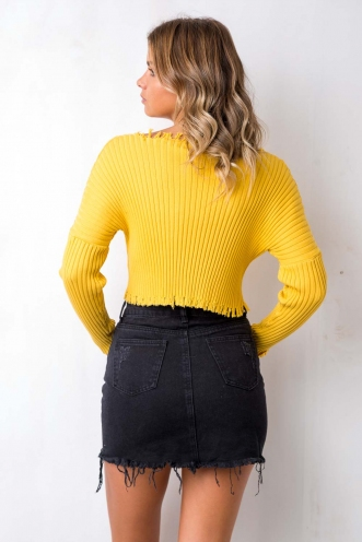 Hollaback Girl Top - Yellow