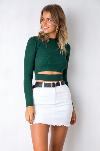 Love Lock Top - Green