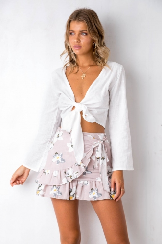Outsider Top - White