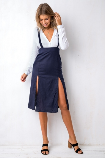 Before Sunset Skirt - Navy