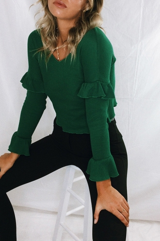 The Wanderer Top - Green