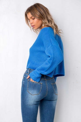 Snooze Time Jumper - Blue