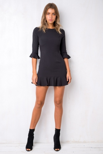 Slow Dance Dress - Black