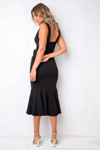 Wine and Dine Dress - Black