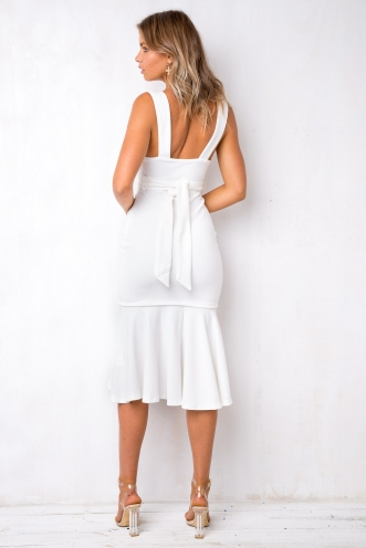 Wine and Dine Dress - White