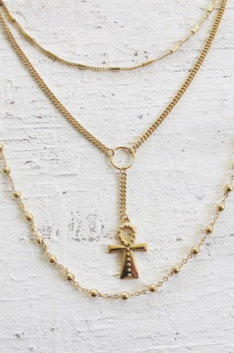 Minc Collections - Forever Necklace - Gold
