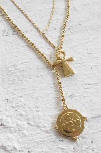 Minc Collections -By The Bay Necklace - Gold