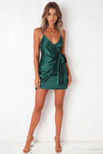 The Unforgettable Dress - Forest Green