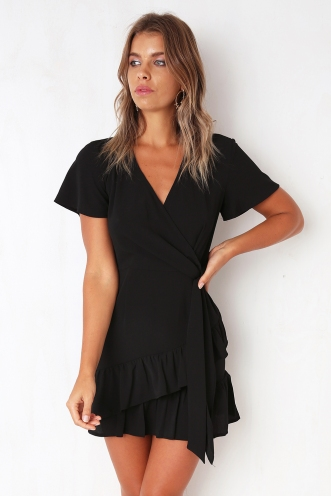 Had It All Dress - Black