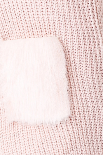 Over And Over Cardigan - Pink